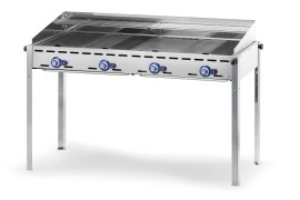 Barbecue - Green Fire con 4 bruciatori - Hendi - 149607