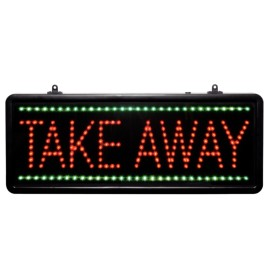 Led & quot; Porta via & quot ;, 41x17cm_1